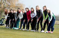 Girls golf at Rayleigh